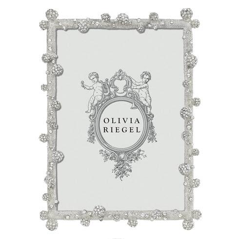 """Olivia Riegel Pavé Odyssey Silver Pavé Odyssey 5"""" x 7"""" Frame $160.00"""