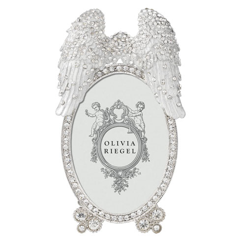 "$85.00 Angel Wings 2.5"" x 3.5"" Frame"