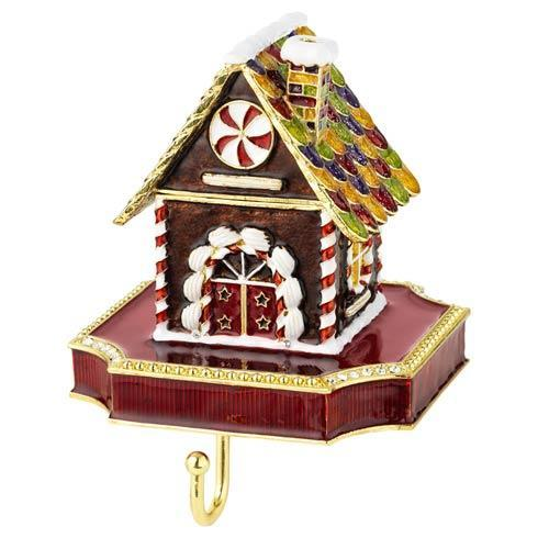 $200.00 Gingerbread Box Stocking Holder