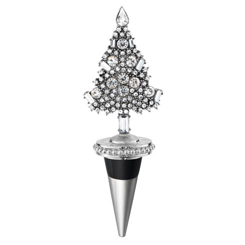 $75.00 Crystal Tree Bottle Stopper