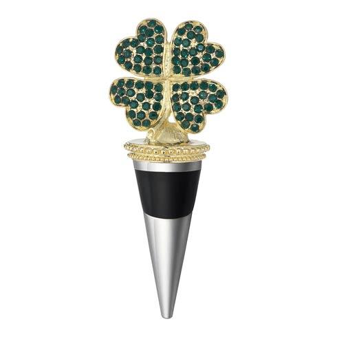 $60.00 Four-Leaf Clover Bottle Stopper