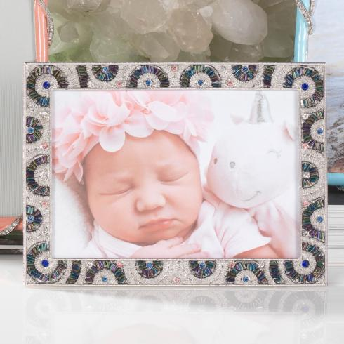 "$125.00 Silver Christopher 5"" x 7"" Frame"