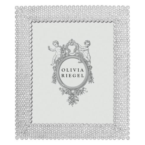 "$275.00 Silver Alexis 8"" x 10"" Frame"