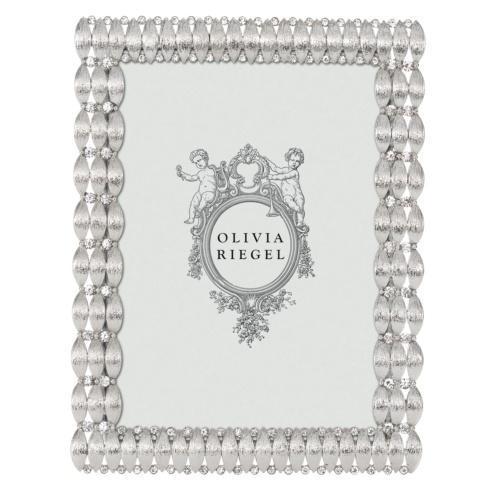 "$110.00 Silver Darby 5"" x 7"" Frame"