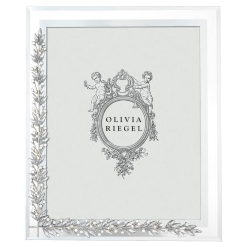 "$125.00 Silver Laurel 8"" x 10"" Frame"