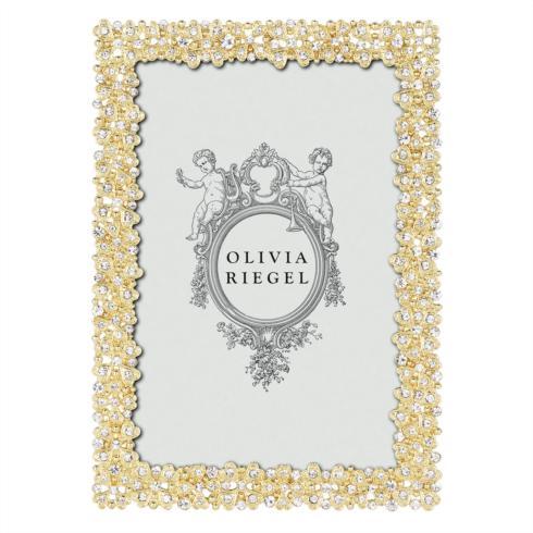 """Olivia Riegel Evie Gold Evie 4"""" x 6"""" Frame $80.00"""