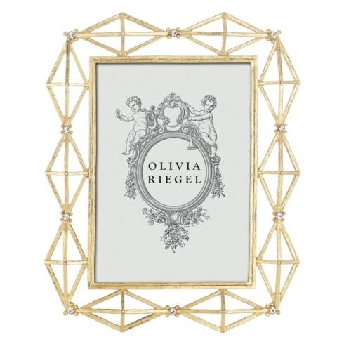 "Olivia Riegel  Gold Xander 5"" x 7"" Frame $100.00"