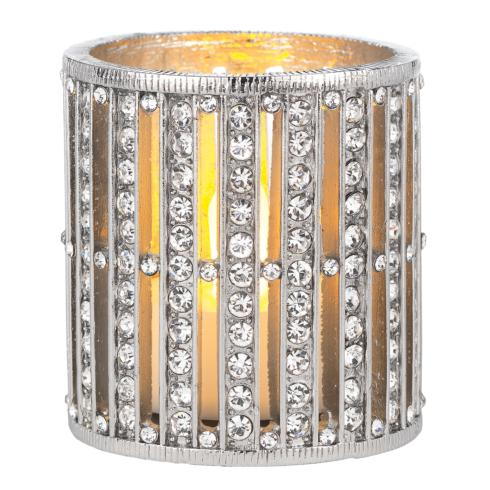 Olivia Riegel  Silver Emerson Tealight Holder