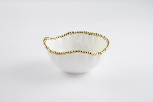 Pampa Bay  Golden Salerno Medium Salad Bowl $45.00