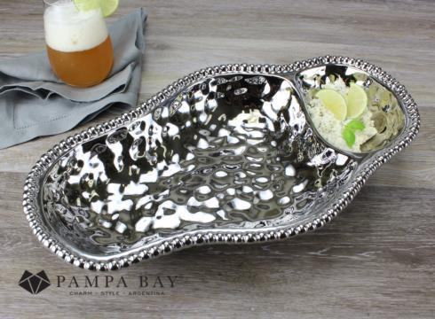 Pampa Bay  Verona Two-section Serving Piece $62.50