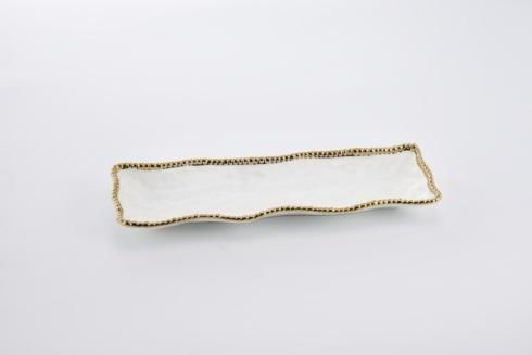 Pampa Bay  Golden Salerno Rectangular Serving Piece $50.00