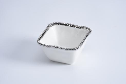 $12.50 Square Snack Bowl