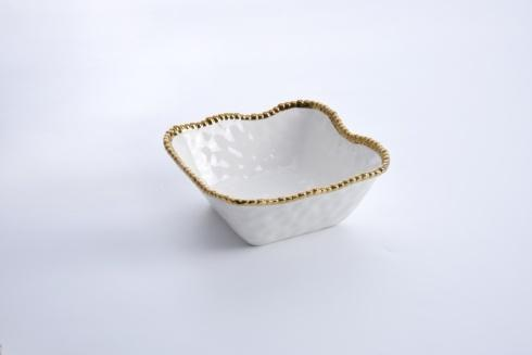 Pampa Bay  Golden Salerno Medium Square Salad Bowl $43.75