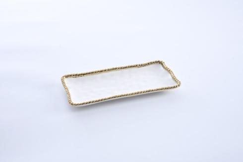 Pampa Bay  Golden Salerno Small Rectangular Tray $25.00