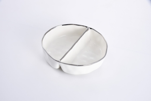 $45.00 Large 2 Section Serving Piece