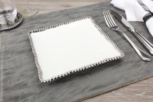 Pampa Bay  Set The Table Square Salad Plate $18.75