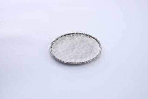 $18.75 Round Salad Plate - Silver