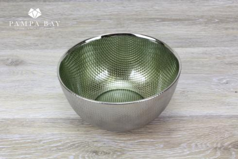 $18.75 Glass Bowl - Green
