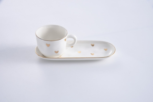 $20.00 Espresso Cup and Saucer