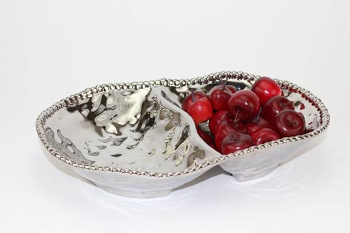 $45.00 2 Section Serving Bowl