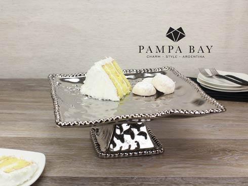 Pampa Bay  Verona Square Cake Stand $75.00