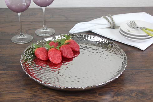 Large Round Serving Platter