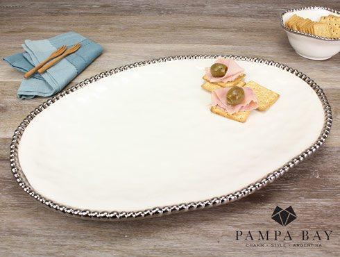 Pampa Bay  Salerno Large Oval Platter $75.00