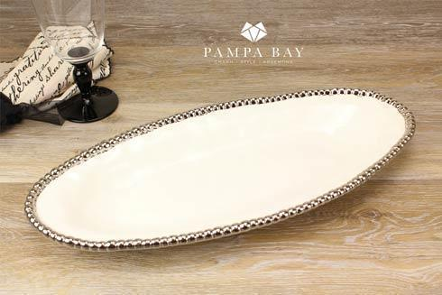 Pampa Bay  Salerno Oval Serving Piece $50.00