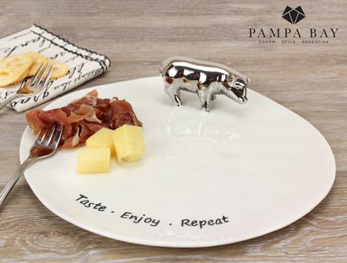 TASTE ENJOY REPEAT' Serving Plate