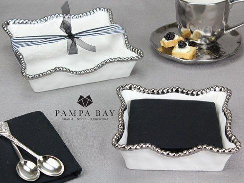 Pampa Bay  Let's Entertain Luncheon Napkin Holder $31.25