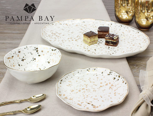Pampa Bay  Royal Living Oval Platter $93.75