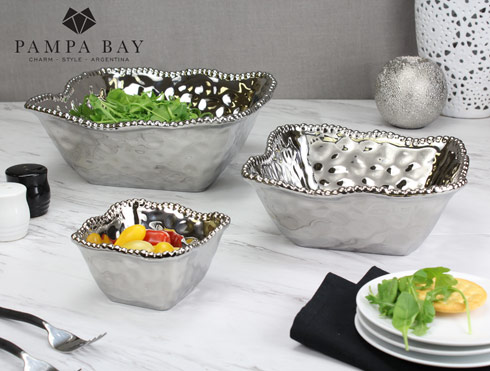 $81.25 Large Square Salad Bowl