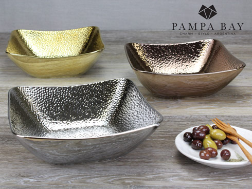 $37.50 Square Bowl - Bronze Finish