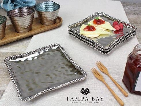 Pampa Bay  Verona Square Appetizer/Dessert Plate $16.25