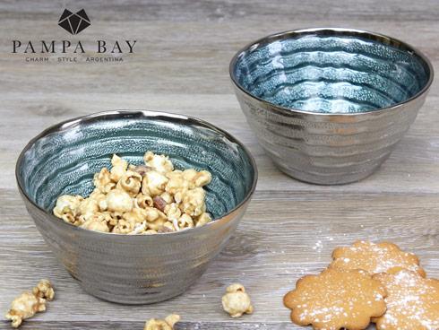 $18.75 Small Blue Glass Bowl