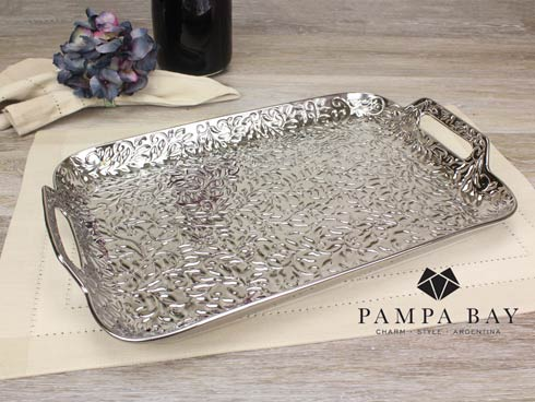 Pampa Bay  Romance Serving Tray with Handles $75.00