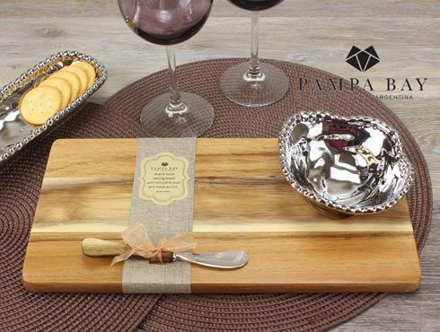 Pampa Bay  Let's Entertain Hostess Wood Board Set-3Pc. $50.00