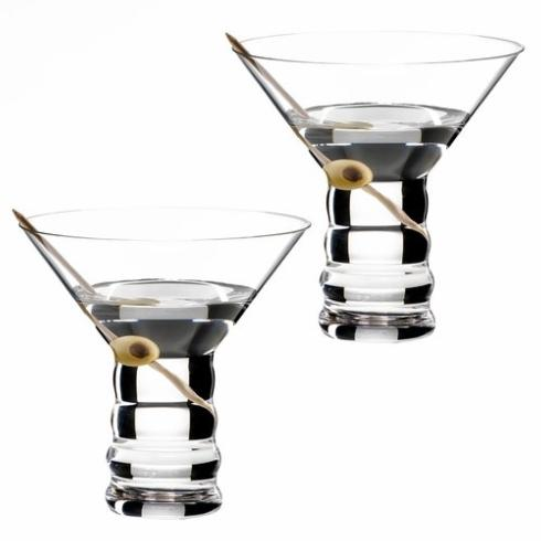 $32.50 Martini Glass Set Of 2