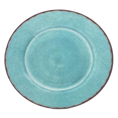 $39.00 Antiqua Tourqoise Family Platter