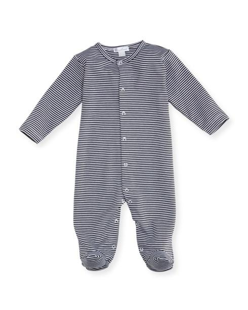 $50.00 Kissy Kissy Striped Footie 3-6