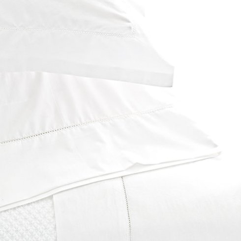 Pine Cone Hill   Classic hemstitch 400 thread count sheet set $272.00