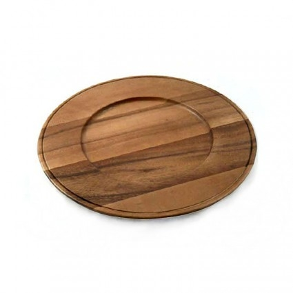 Acacia Wood Charger collection with 1 products
