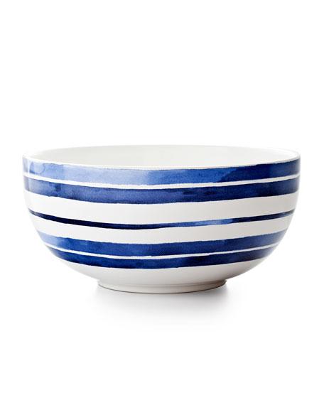 Polka-Dot Penguin Exclusives   Ralph Lauren Home Cote D'Azur Stripe Serving Bowl $65.00