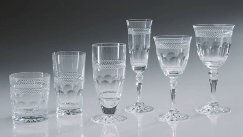 $0.00 Chenonceau Crystal Long Stemmed Water Goblet