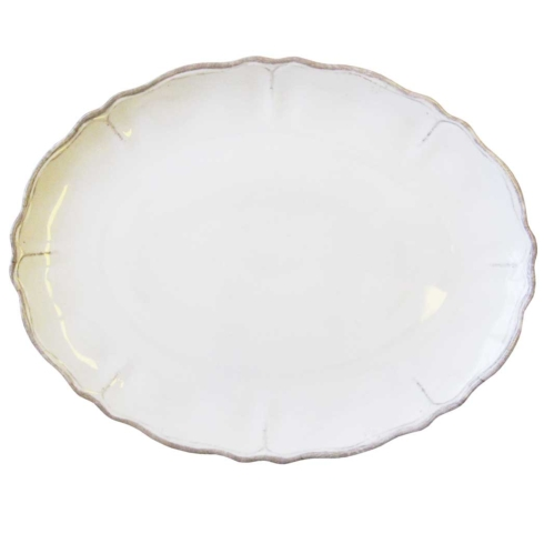Rustica Antique White Serving Platter collection with 1 products