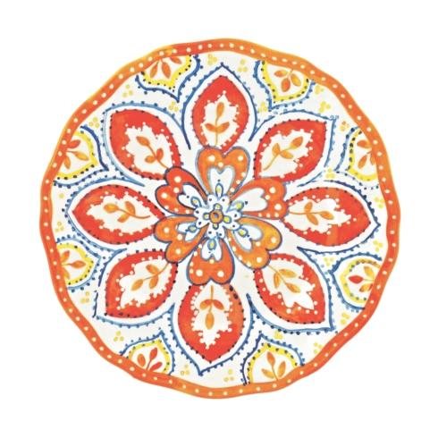 """$12.00 9"""" orange blossom salad plate"""