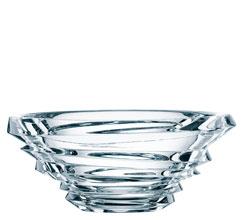 $143.00 Slice Crystal Oval Bowl