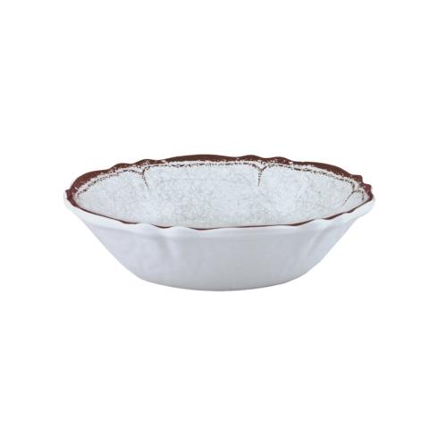 $13.50 Rustica Antique White Cereal Bowl