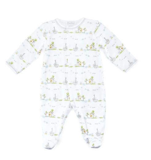 $40.00 Kissy Kissy Noah\'s Ark Printed Footie Pajamas