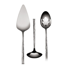 Vera Wang Hammered Three Piece Serving Set